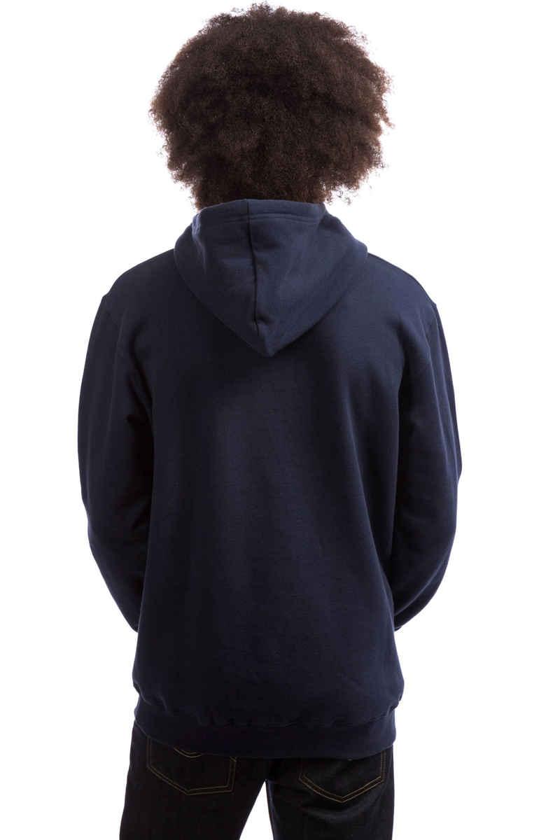 Cleptomanicx College Hoodie (dark navy)