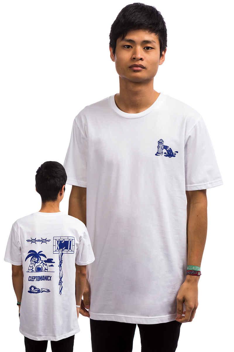 Cleptomanicx Break Free T-Shirt (white)