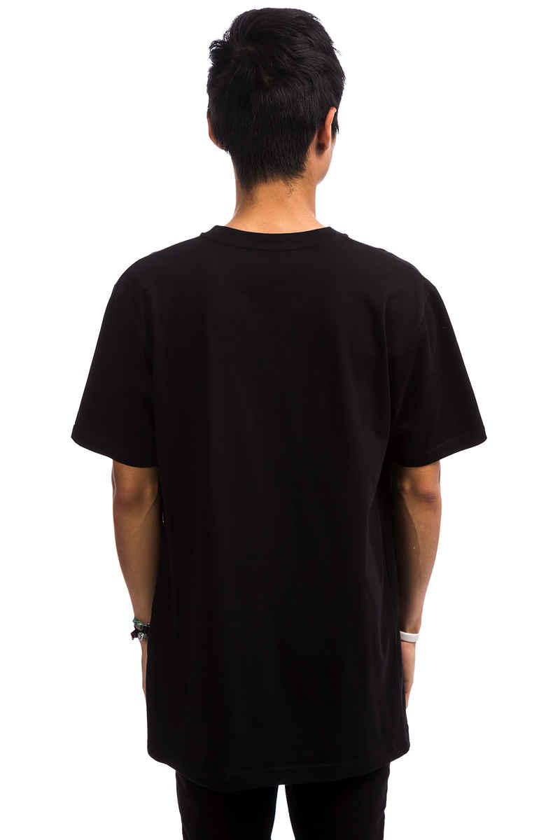 Cleptomanicx Camou Gull T-Shirt (black)
