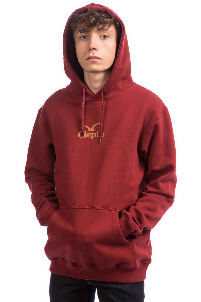 Cleptomanicx C.I. Hoodie (merlot red)