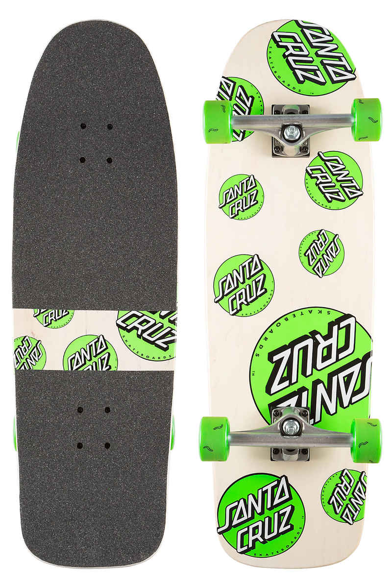 "Santa Cruz Multi Dot 80's 9.9"" Cruiser (natural)"