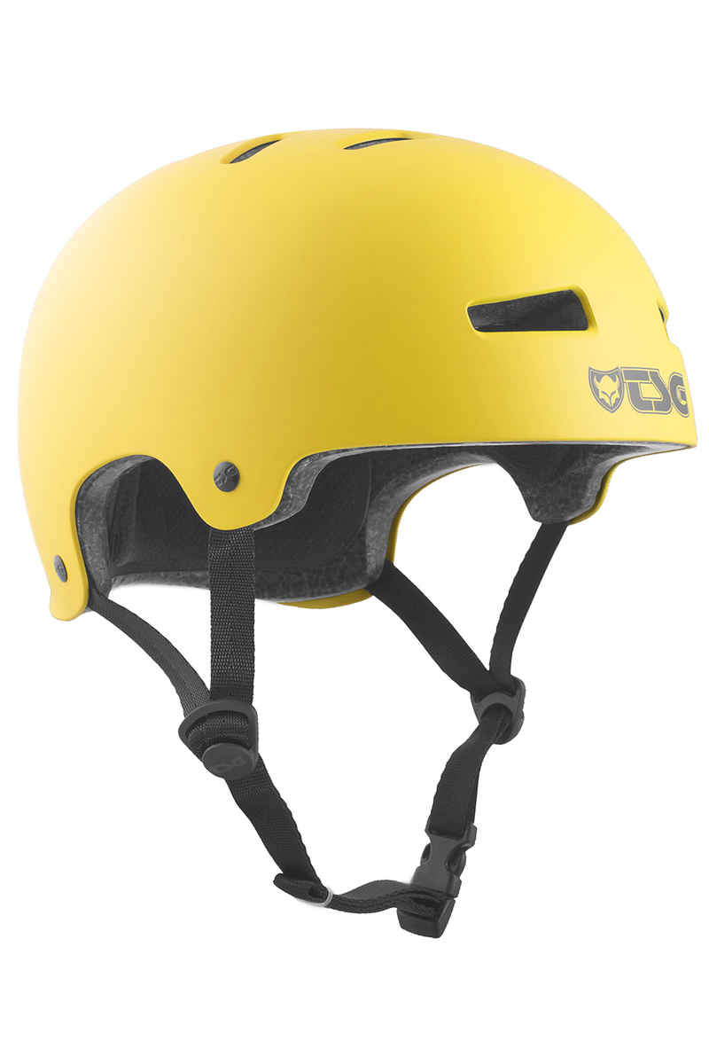 TSG Evolution-Solid-Colors Helm (satin mustard)