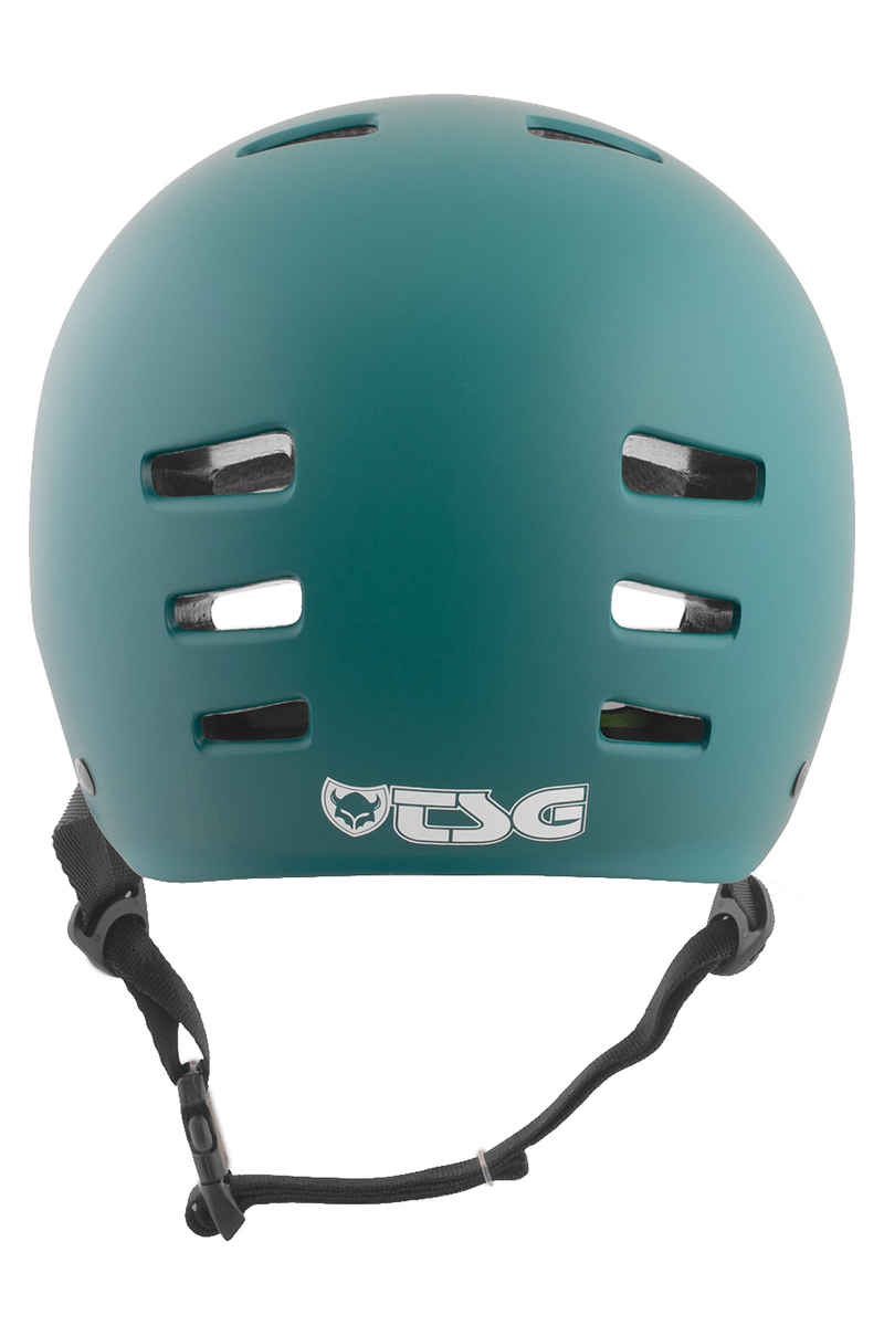 TSG Evolution-Solid-Colors Helm (satin dark teal)