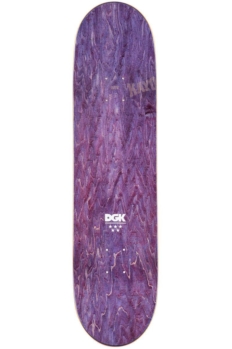 "DGK Skateboards Vaughn Spliff 8.125"" Deck (black)"