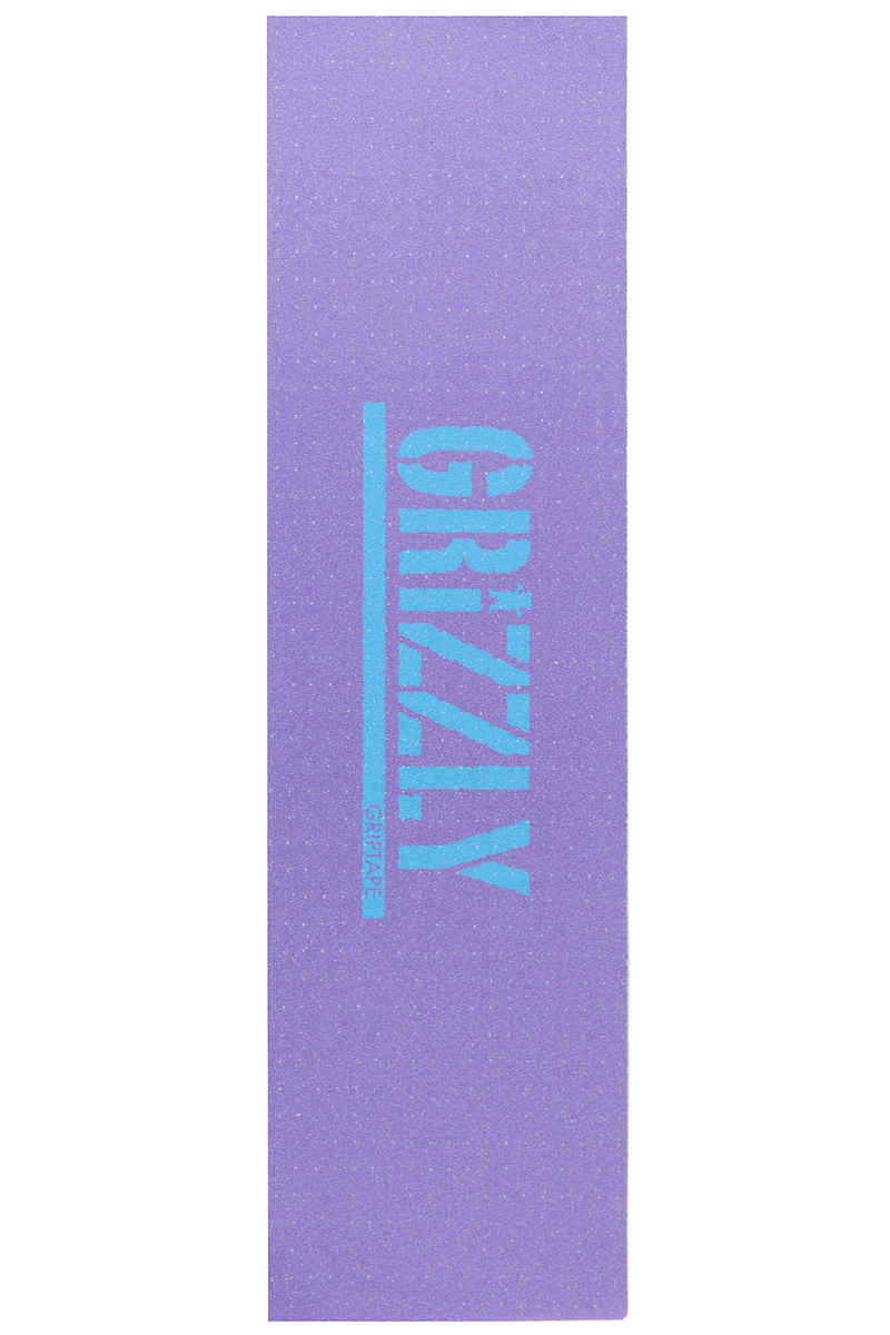 Grizzly Reverse Stamp Griptape (lavender blue)
