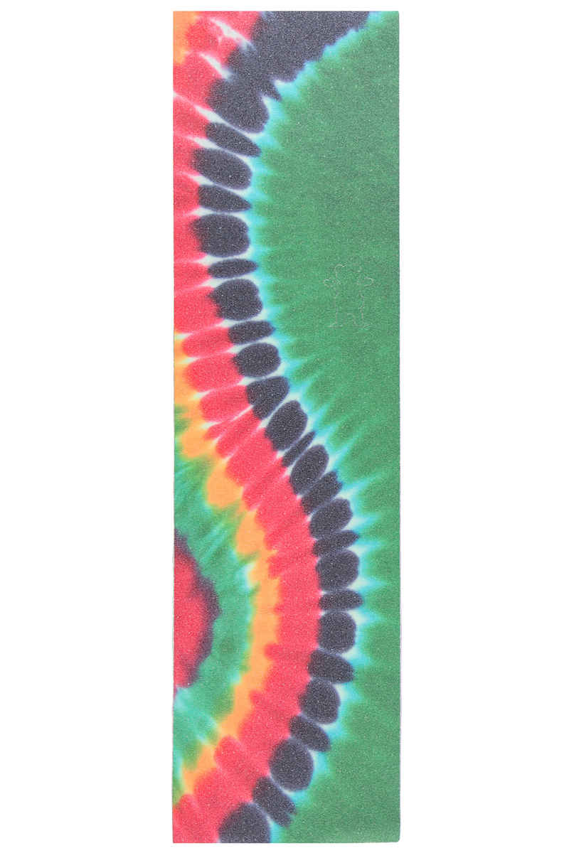 grizzly curved tie dye griptape green kaufen bei skatedeluxe. Black Bedroom Furniture Sets. Home Design Ideas