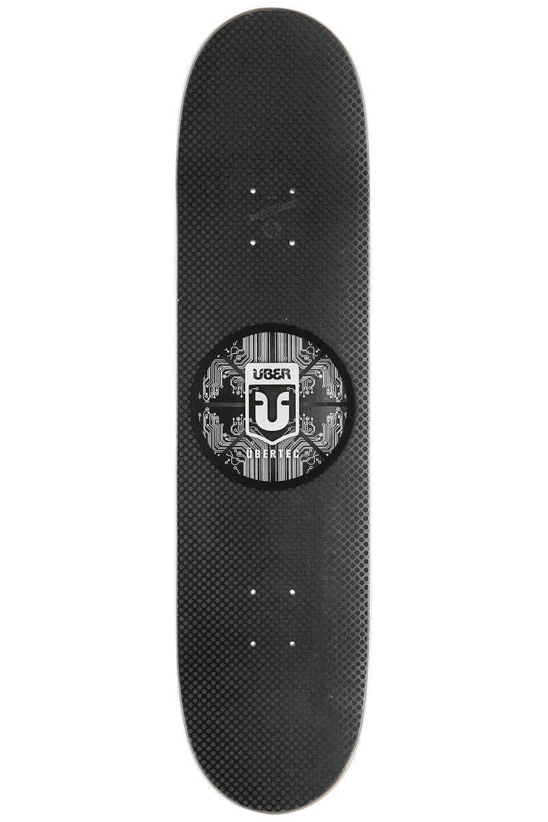 """Über Skateboards Tec 8"""" Planche Skate (black)"""