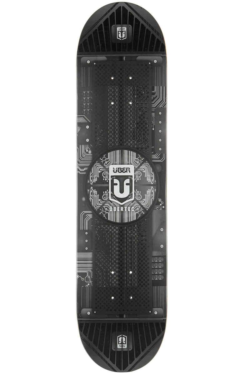 """Über Skateboards Tec 8.125"""" Deck (black)"""