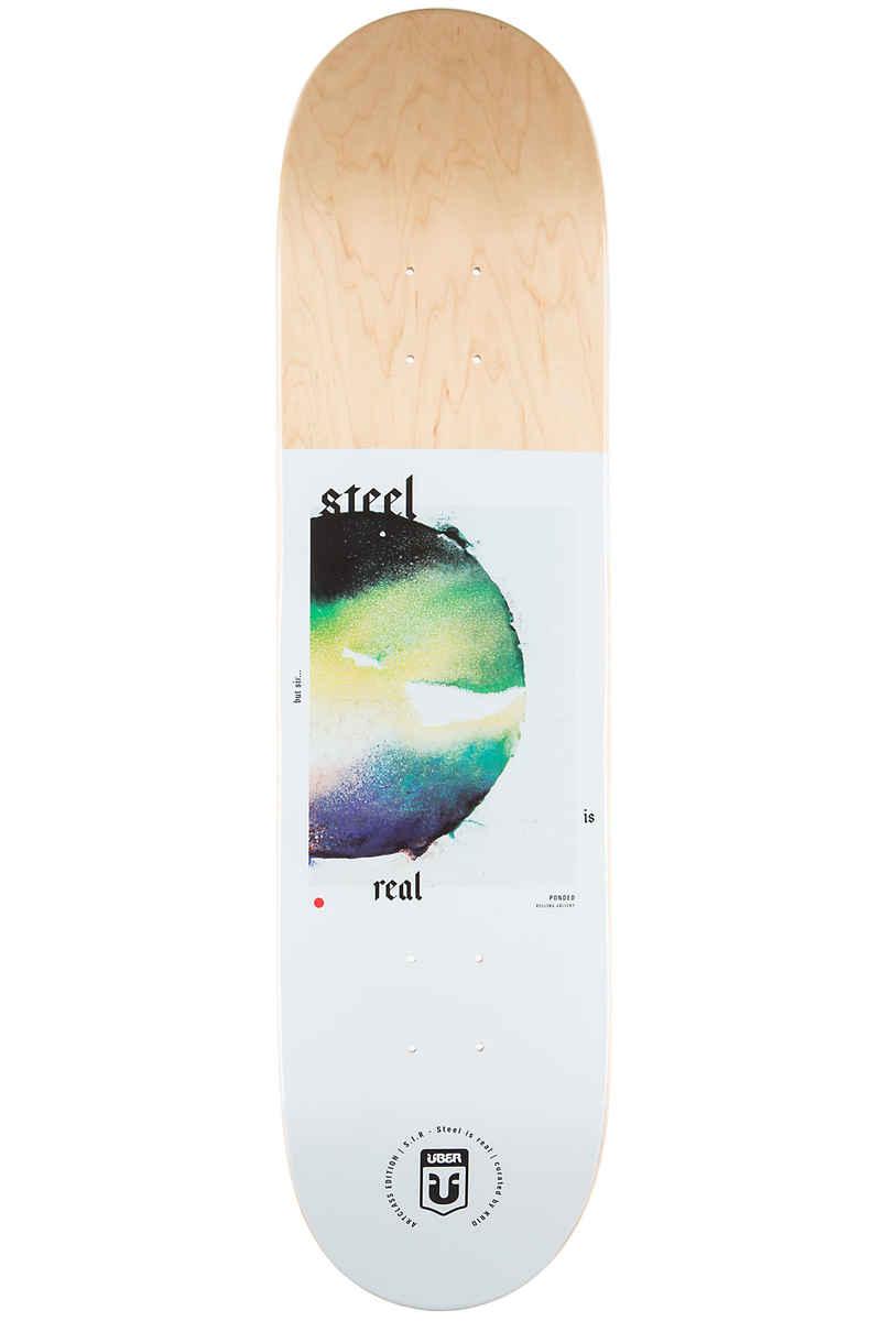 """Über Skateboards Ponded Arts Series 8"""" Deck (multi)"""