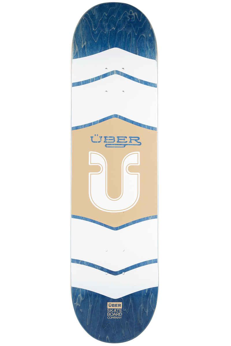 "Über Skateboards Icon 8.5"" Deck (golden)"