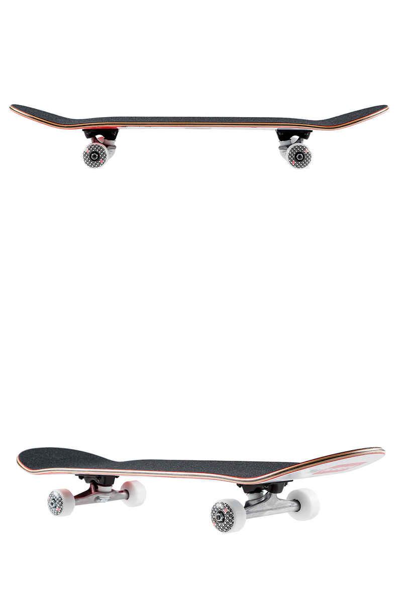 """Über Skateboards Pizzapug You Tüber 7.875"""" Complete-Board (white red)"""