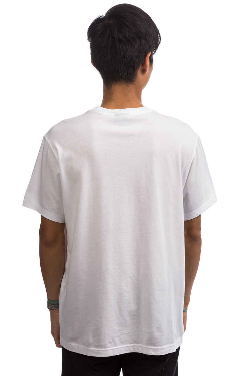 Champion Jersey Melange Co Top Dyed T-Shirt (white)