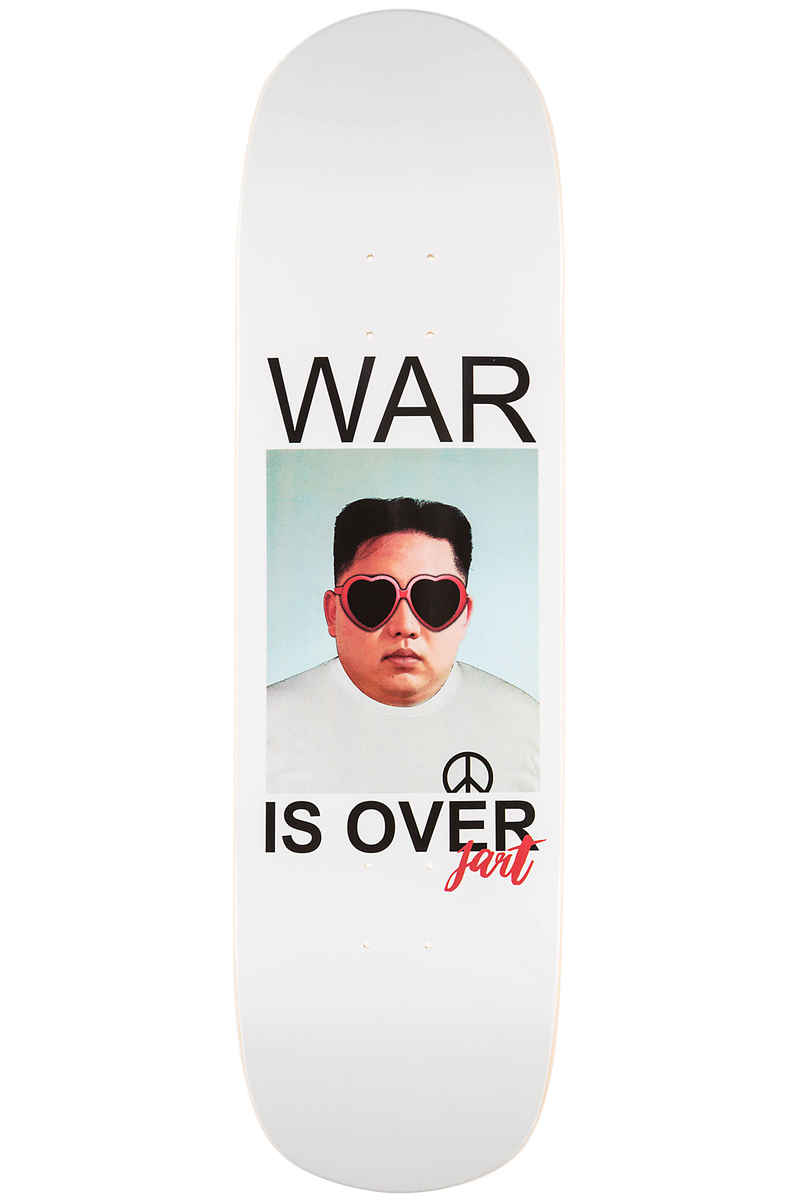 "Jart Skateboards War Is Over Pool Before Death 8.875"" Planche Skate (white)"
