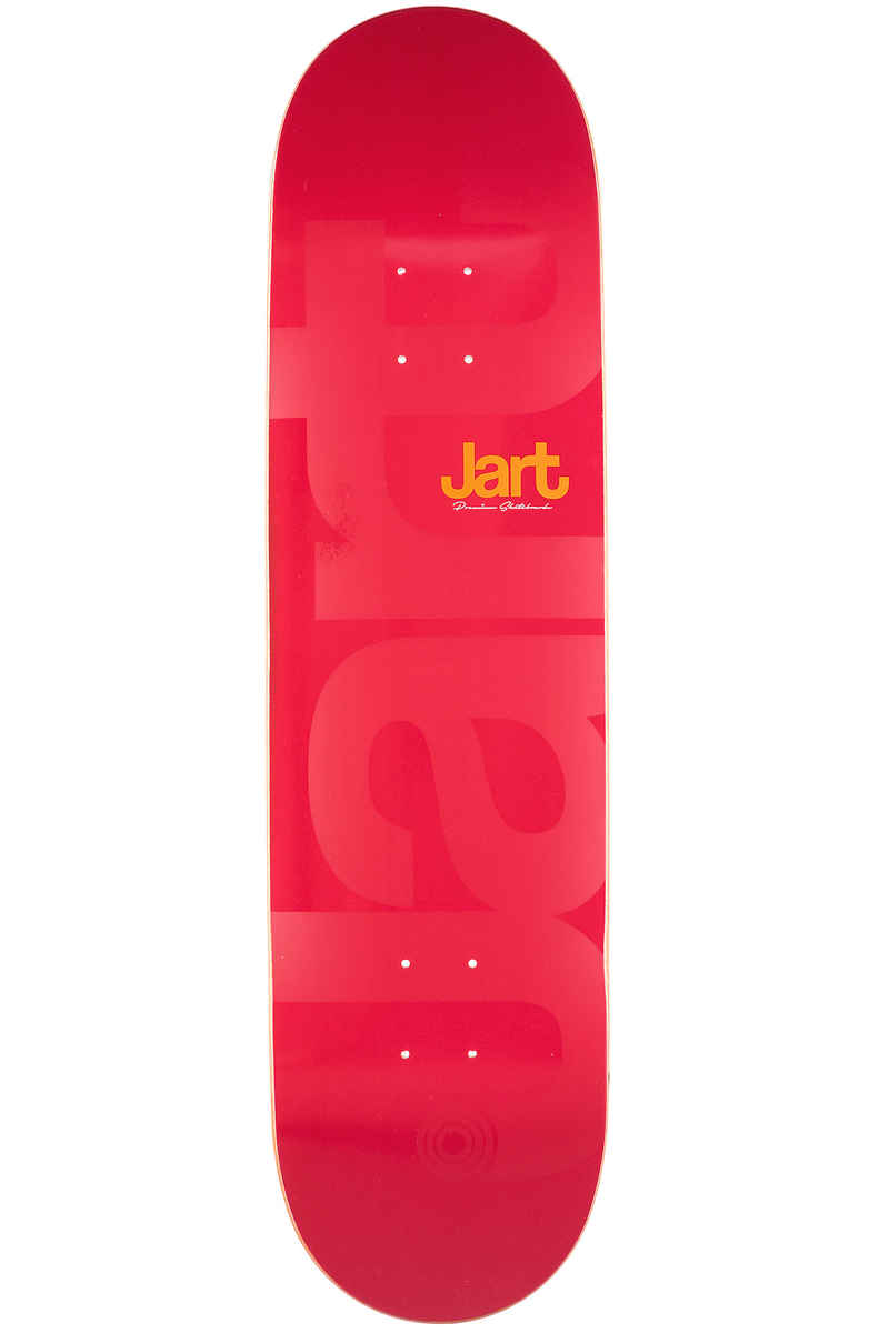 "Jart Skateboards Little Biggie 8.5"" Planche Skate (red)"