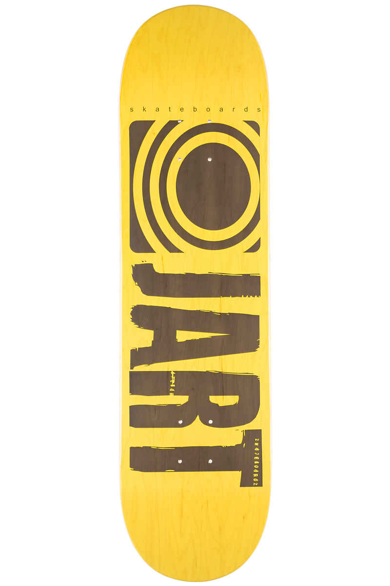 "Jart Skateboards Classic 8.25"" Planche Skate (yellow)"