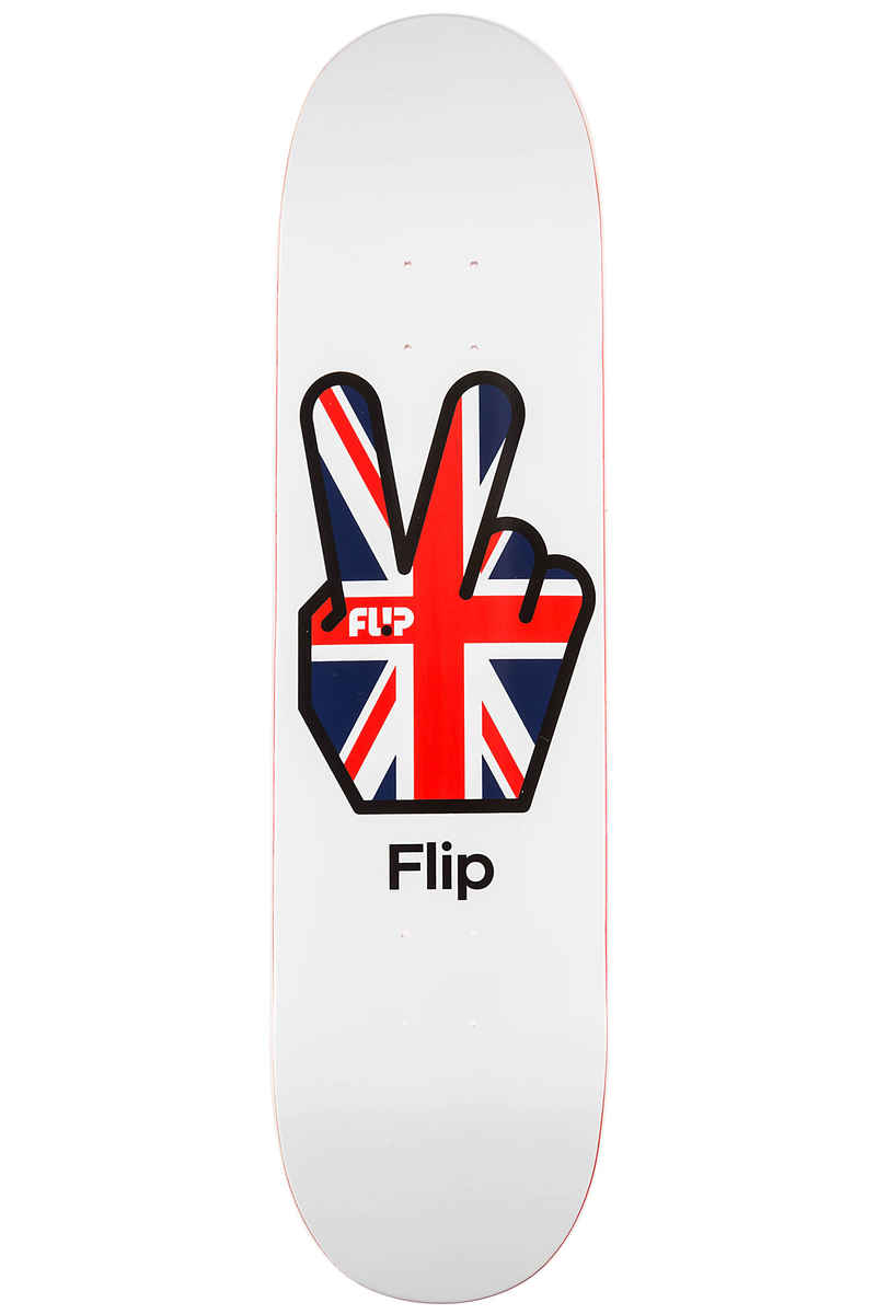 "Flip Team Liberty 8.13"" Deck (white)"