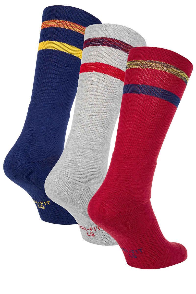 Nike SB Crew Socken US 3-15 (multi-color) 3er Pack