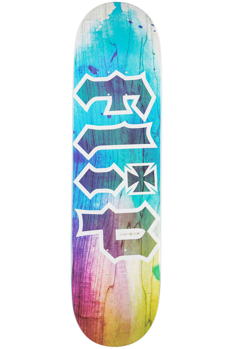 "Flip Team HKD Tie Dye 8.25"" Planche Skate (blue)"