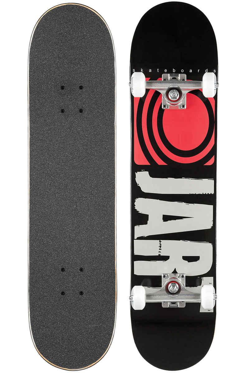 "Jart Skateboards Classic 7.875"" Complete-Board (black red)"