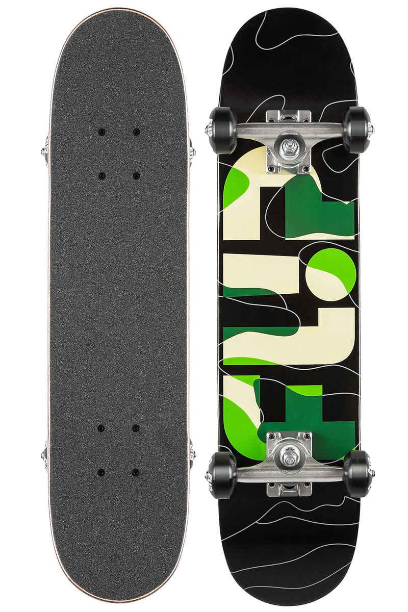 "Flip Team Odyssey Camo 6.75"" Complete-Board kids (green)"