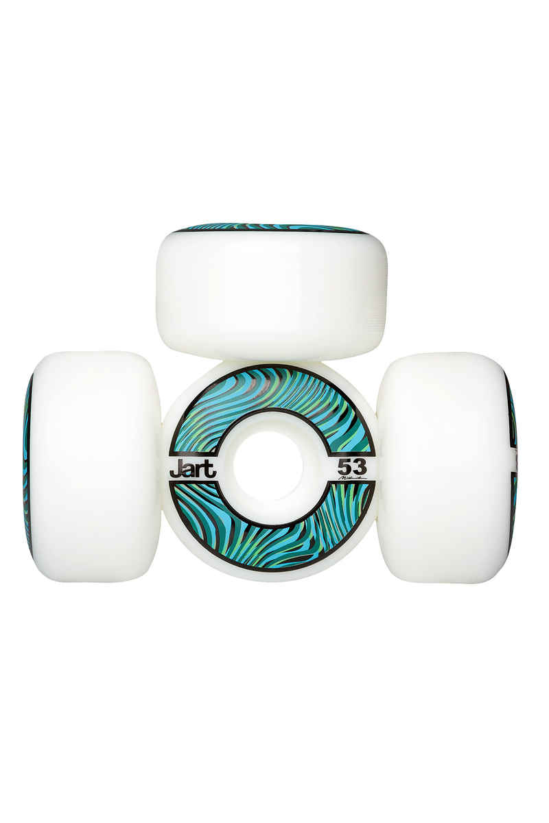 Jart Skateboards Psycho Wheels (white) 53mm 102A 4 Pack
