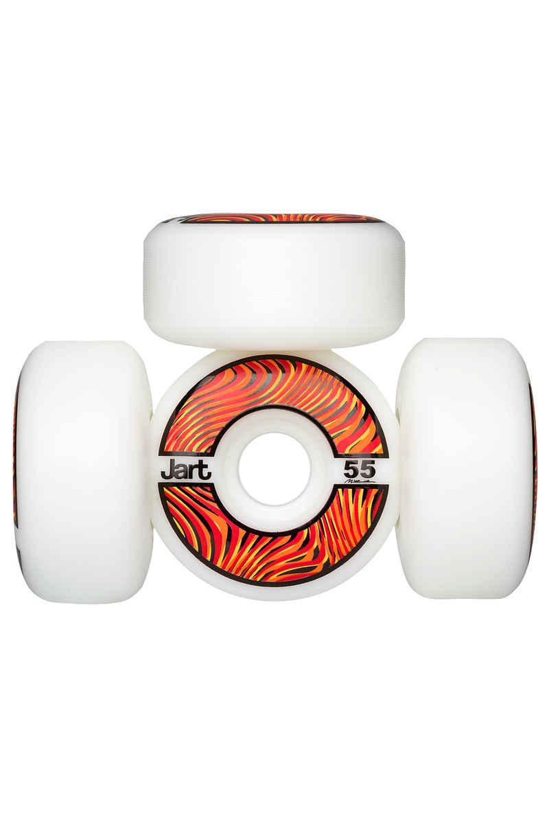 Jart Skateboards Psycho Roue (white) 55mm 102A 4 Pack