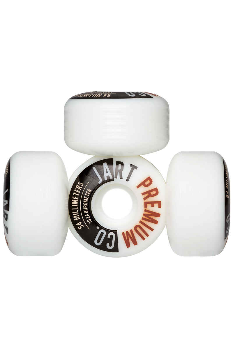 Jart Skateboards Analogic Wiel (white) 54mm 102A 4 Pack