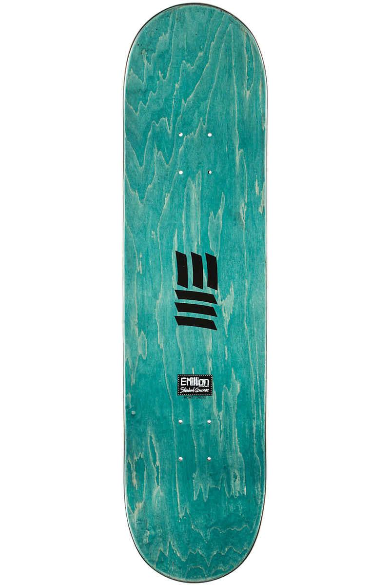 """EMillion EMboss 8.125"""" Planche Skate (black)"""
