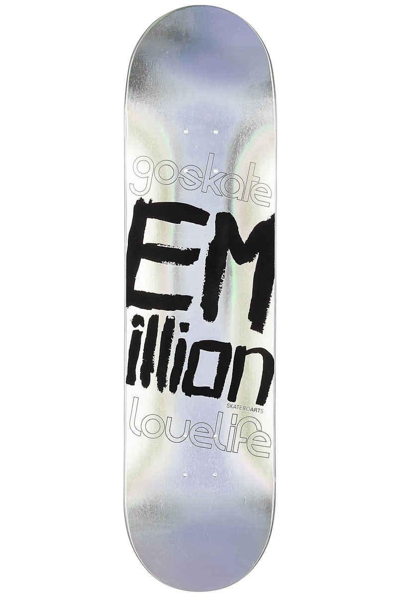 "EMillion Laser Series 8.125"" Planche Skate (multi)"