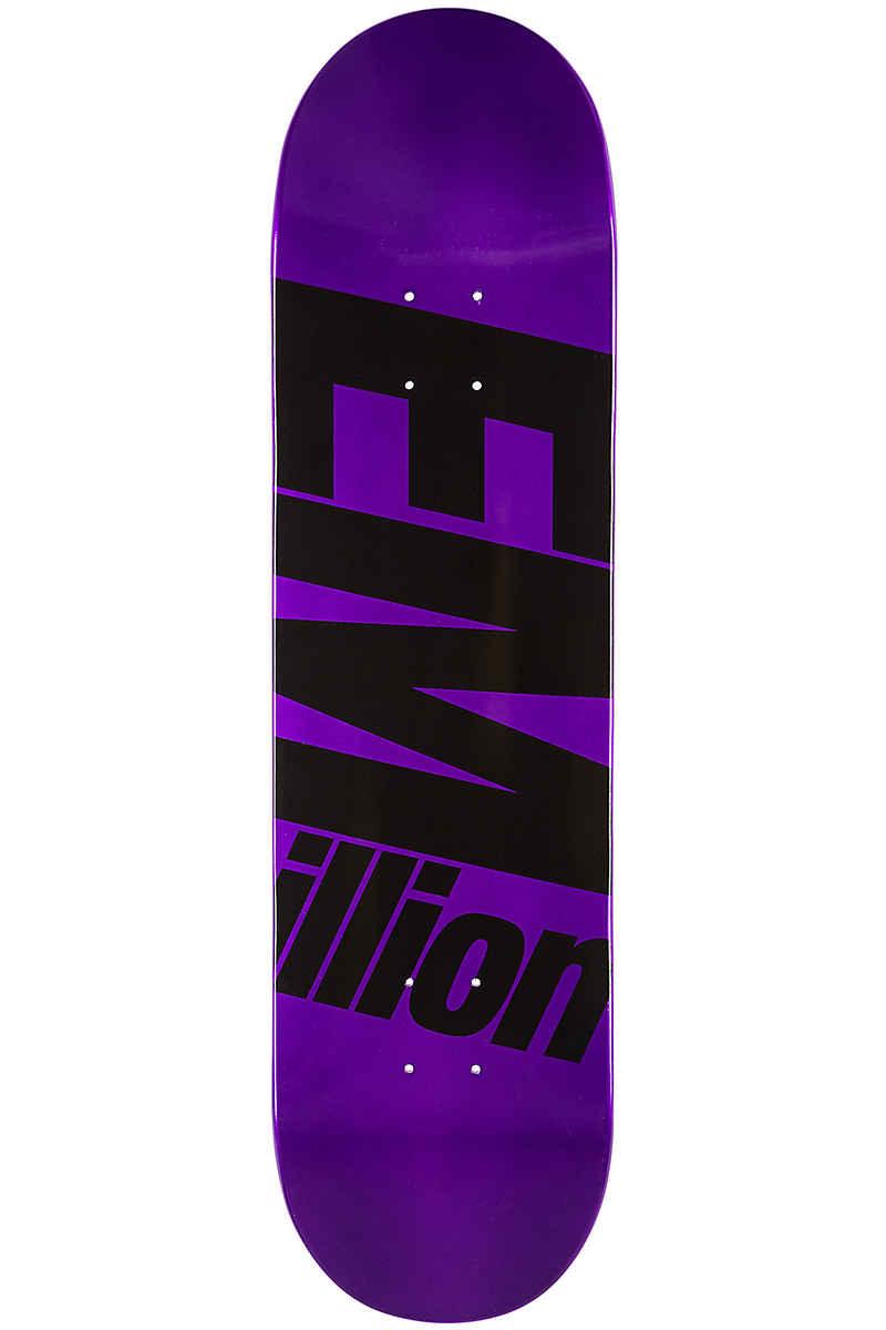 "EMillion Full Metal Dipped 8.25"" Planche Skate (purple)"