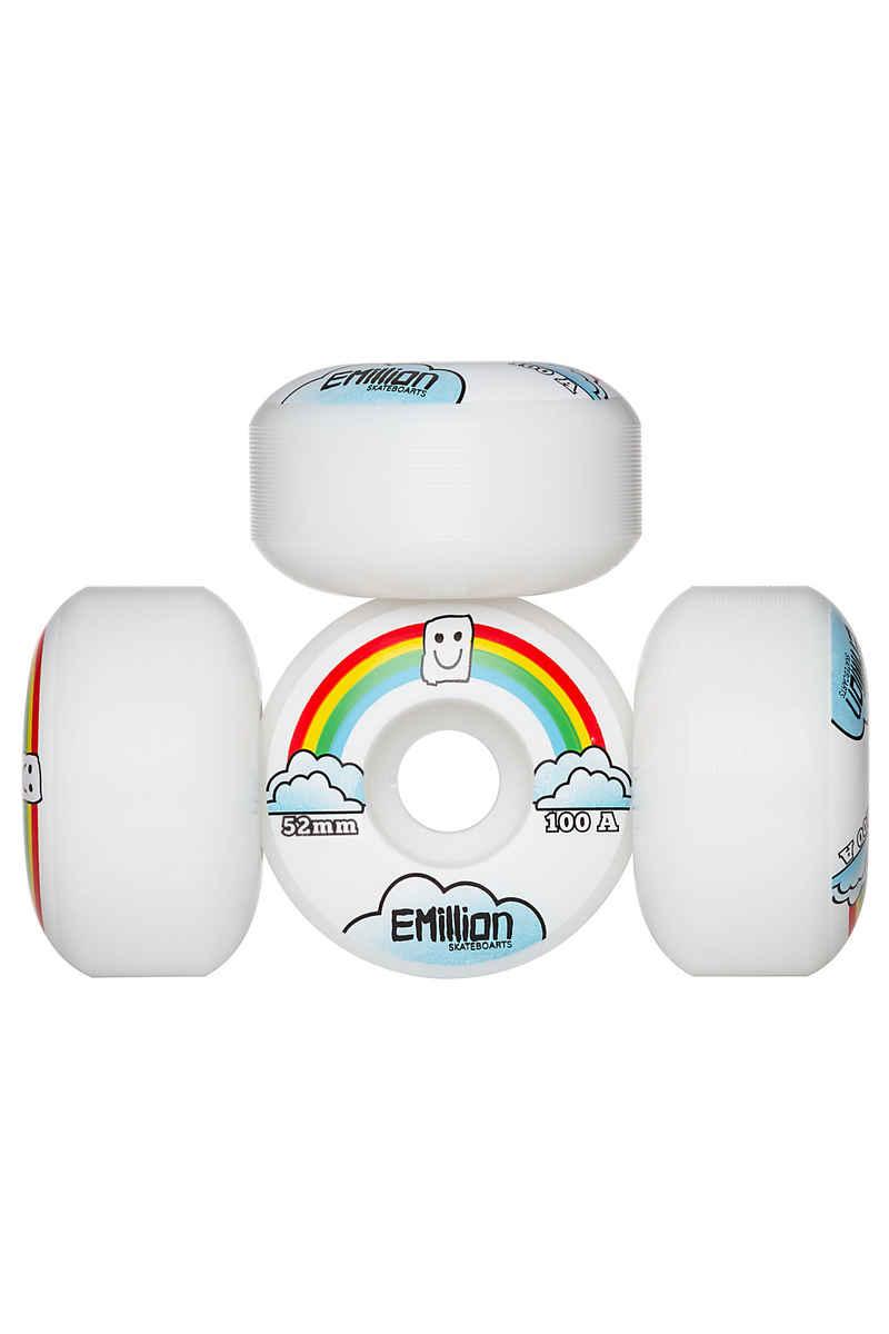 EMillion Beach Bum Wheels (white) 52mm 100A 4 Pack