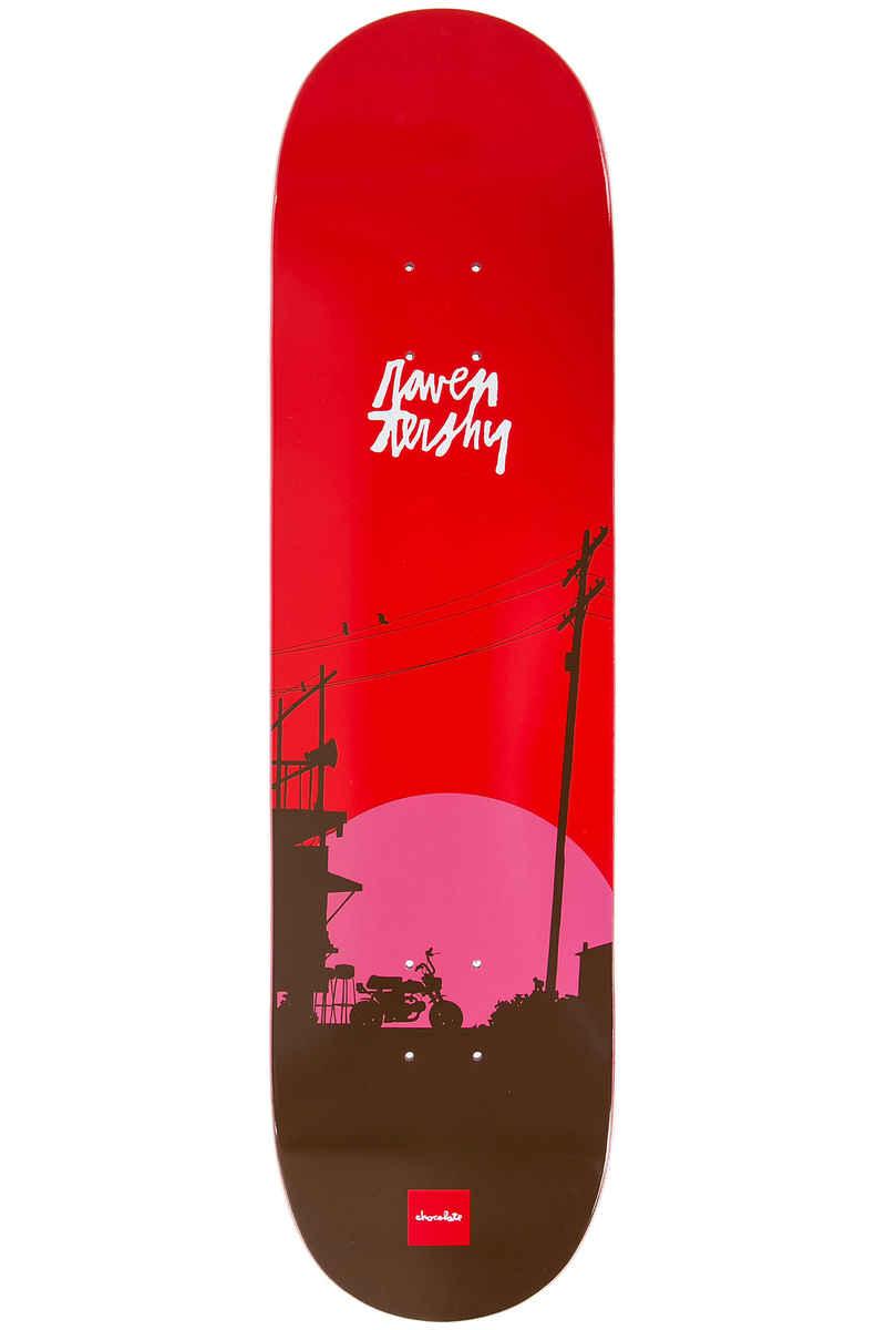 "Chocolate Tershy Sun 8.375"" Deck (red)"