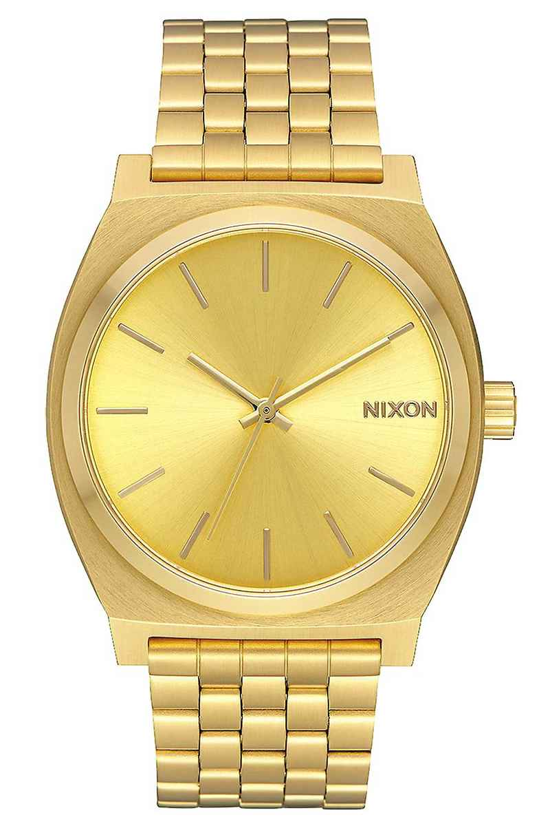 Nixon The Time Teller Watch (all gold gold)