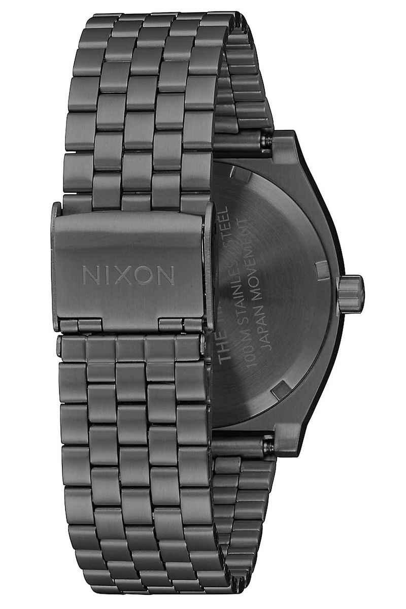 Nixon The Time Teller Watch (gunmetal indigo)
