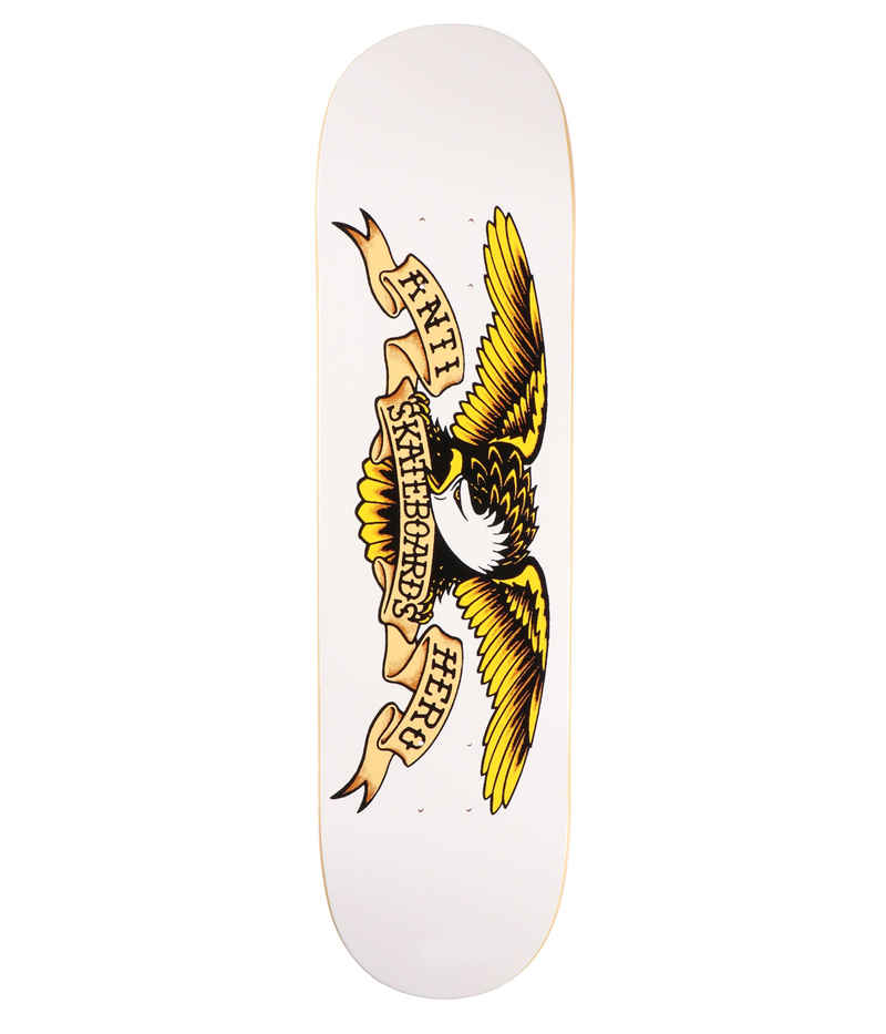 "Anti Hero Team Classic Eagle 8.75"" Deck (white)"