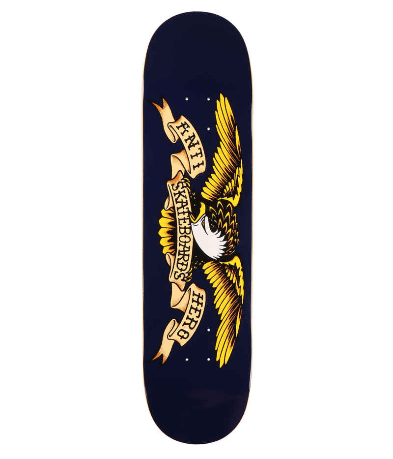 "Anti Hero Team Classic Eagle 8.5"" Deck (navy)"