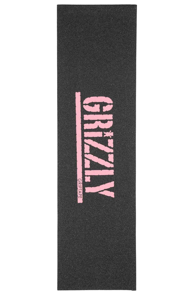 Grizzly Stamp Print Grip Skate (black pink)