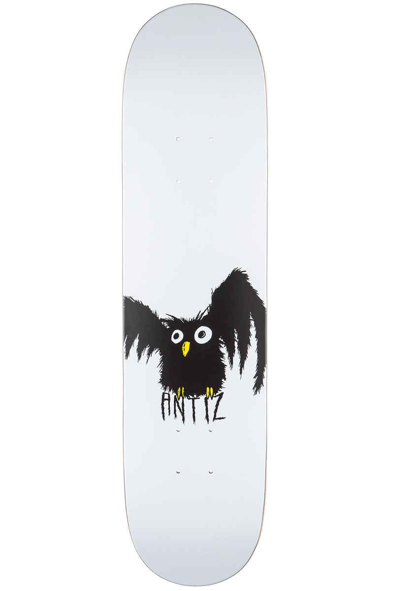 "Antiz Skateboards Hiboo Kid 7.25"" Deck (white)"