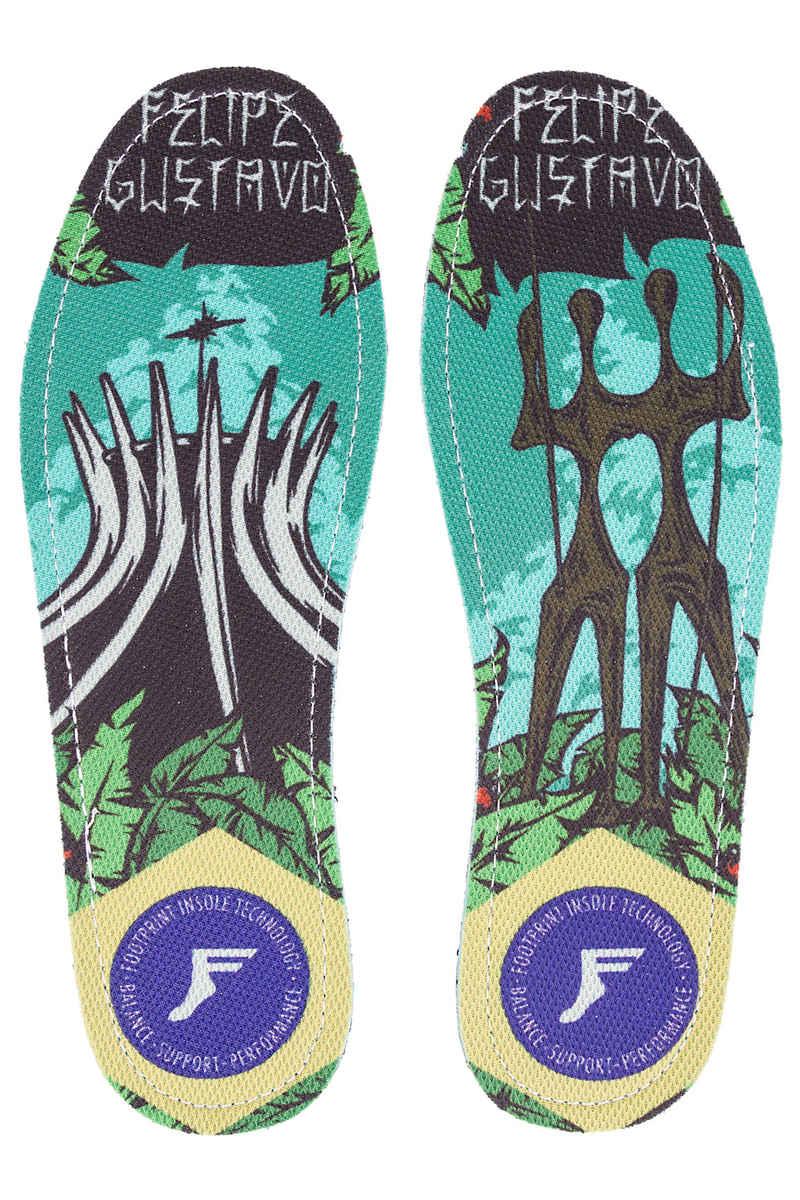Footprint Gustavo Brasa King Foam Flat Semelle