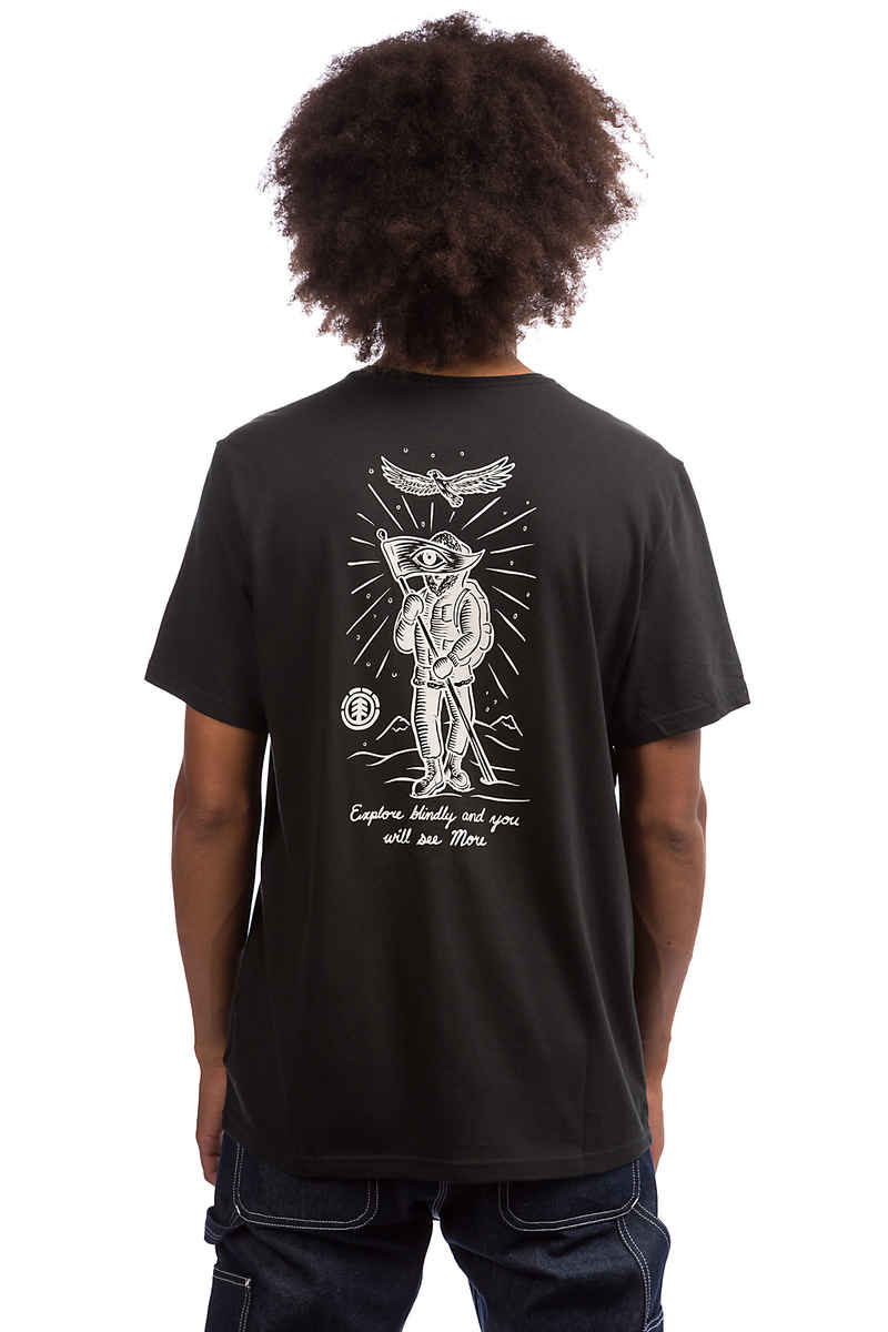 Element Base Camp T-Shirt (off black)