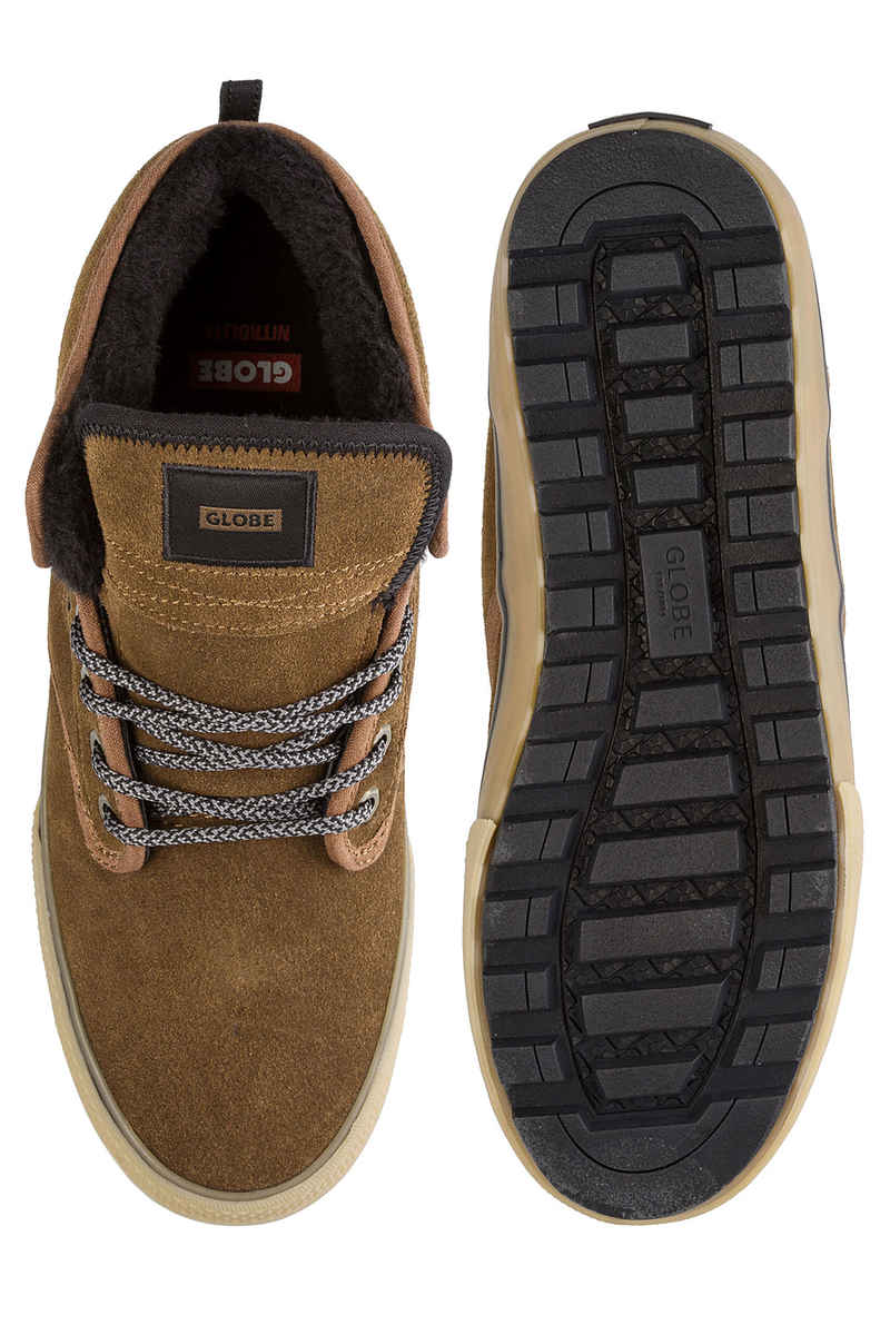 Globe Motley Mid Schuh (partridge brown gum fur)
