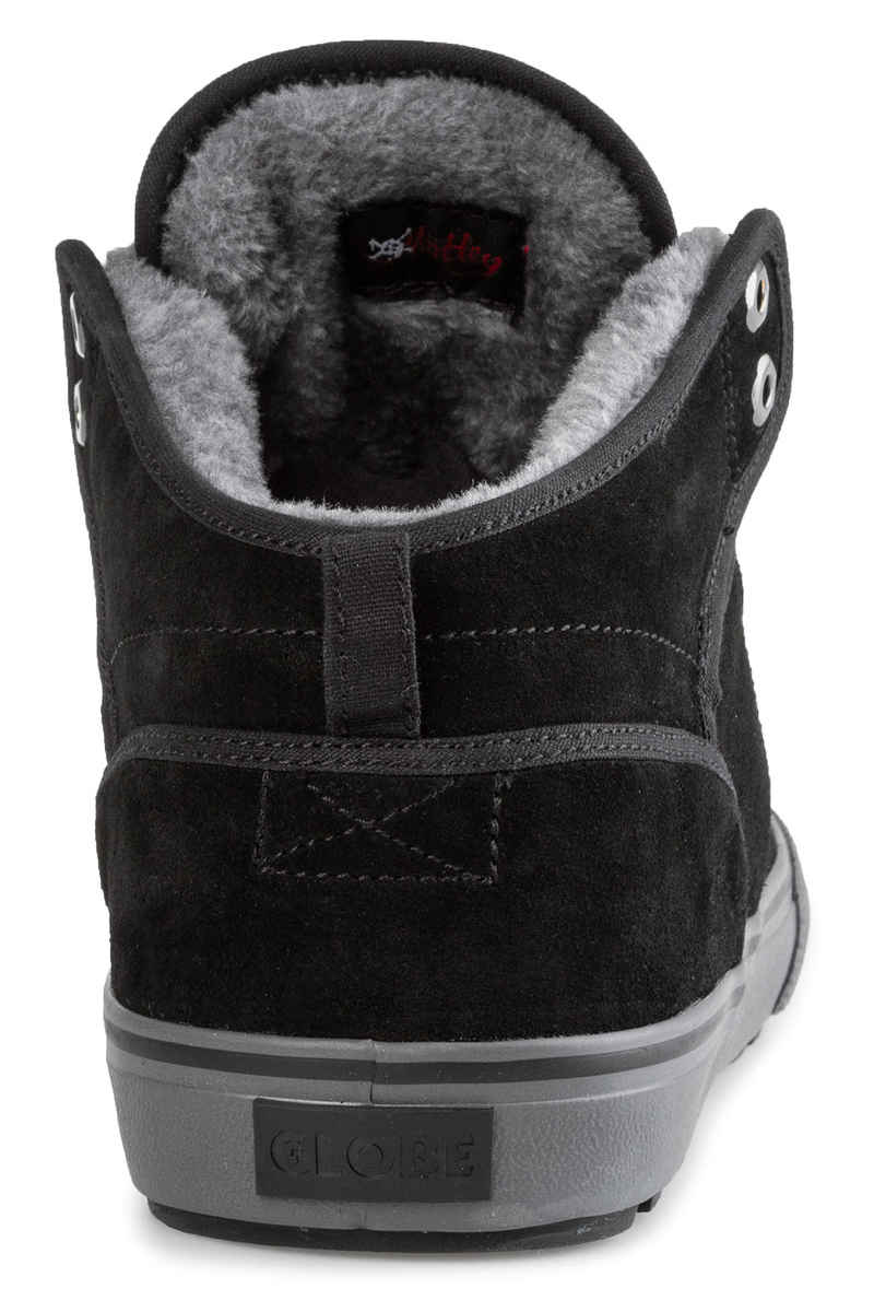 Globe Motley Mid Schuh (black phantom fur)