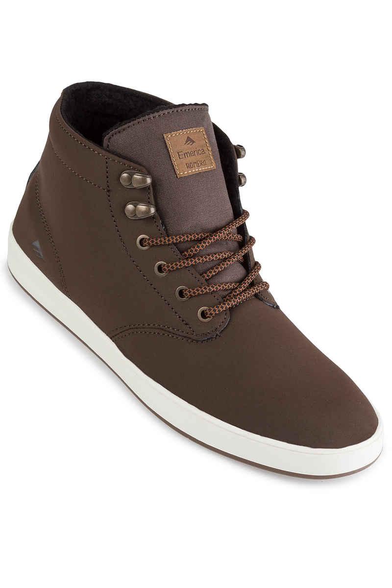 Emerica Romero Laced High Schuh weatherized (brown)