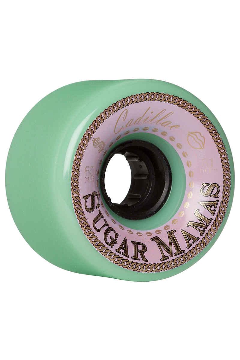 Cadillac Wheels Sugar Mamas 65mm 81A Wiel (mint) 4 Pack