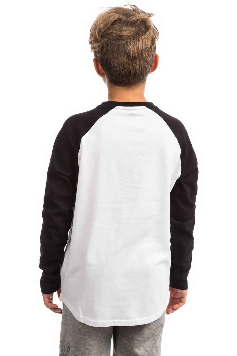 Element Vertical Raglan Longsleeve kids (optic white)