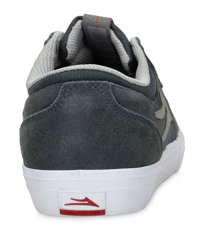 Lakai Griffin Suede Shoes (charcoal)