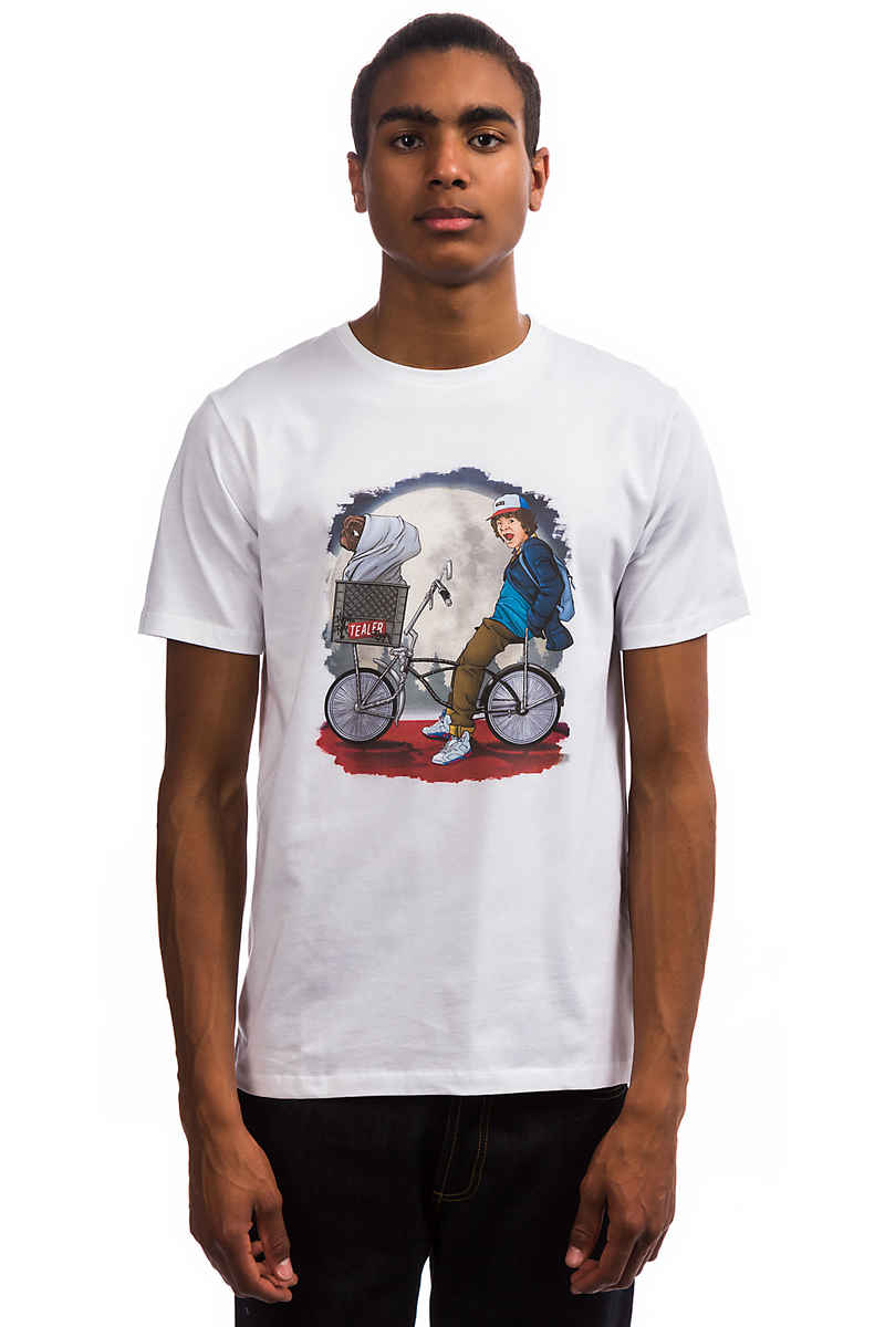 Tealer Stranger Things T-Shirt (white)