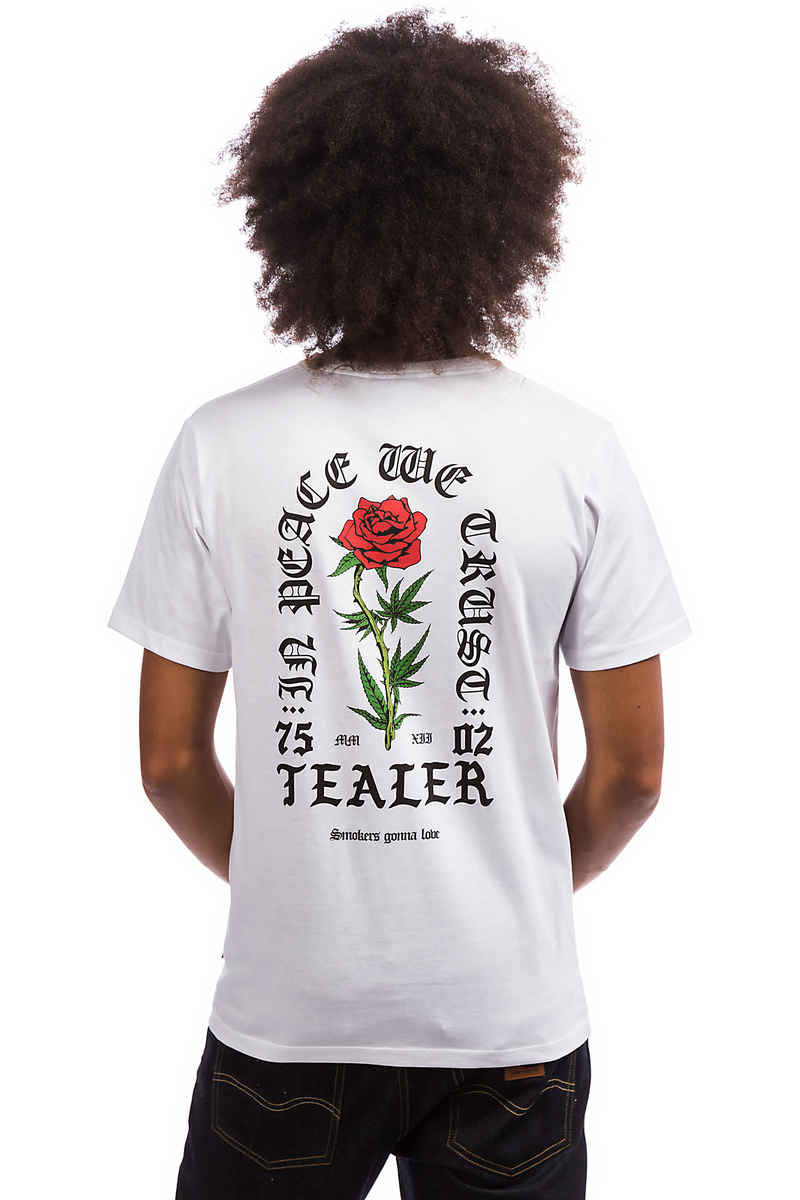 Tealer In Peace We Trust T-Shirt (white)