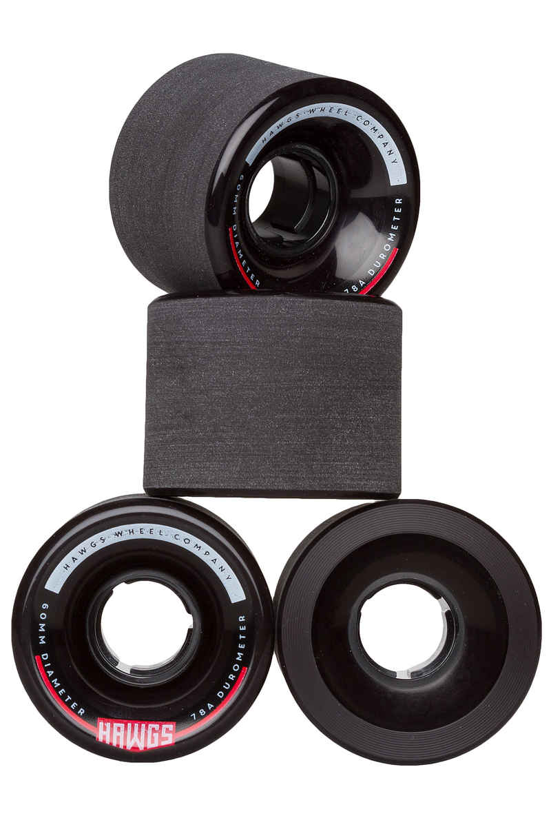 Hawgs Chubby Roue (black) 60mm 4 Pack 78A