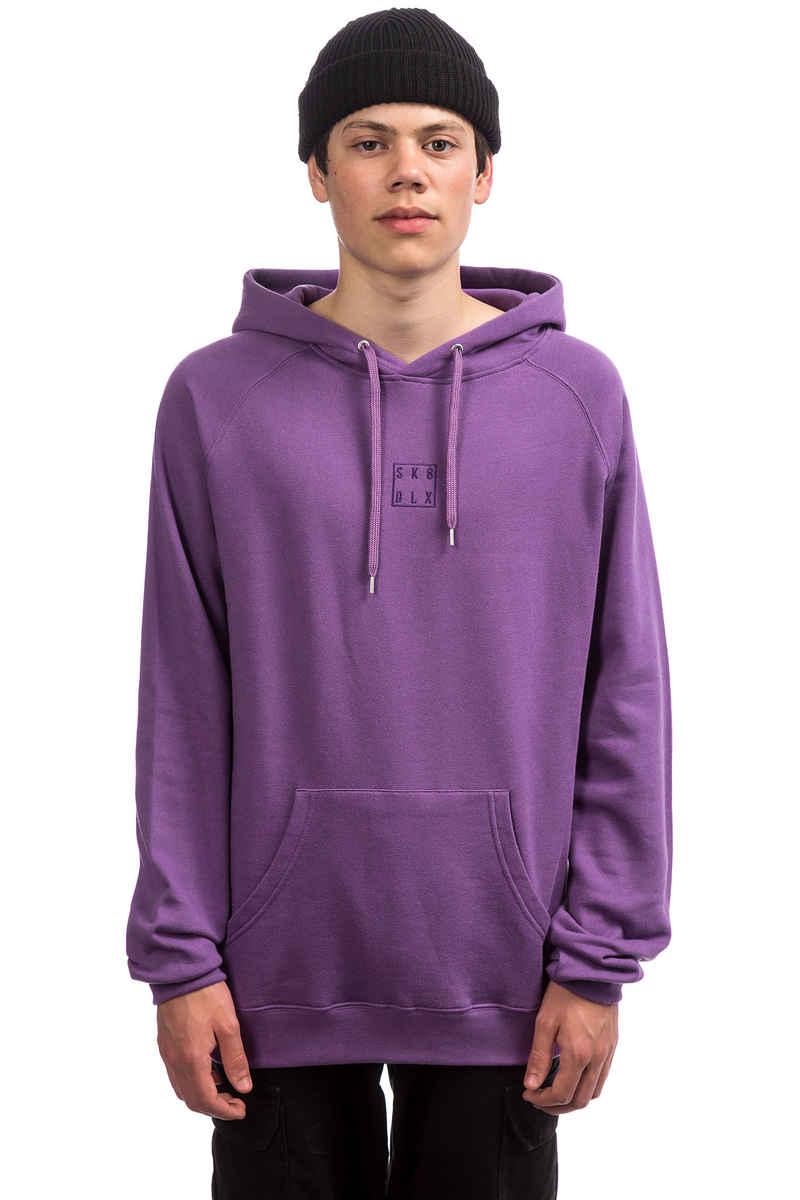 SK8DLX Square Hoodie (aubergine)